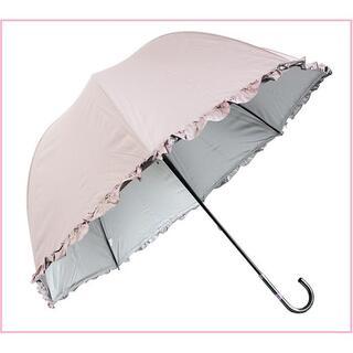 【即日★発送】晴雨兼用 日傘 UVカット 手開き傘 (ピンク)