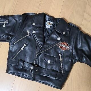 ハーレーダビッドソン(Harley Davidson)のハーレーダビッドソン キッズ レザージャケット(ジャケット/上着)