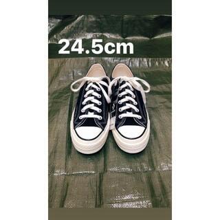 CONVERSE - チャックテイラー ブラック 24.5cm CT70 コンバース