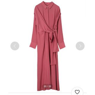 CLANE クラネ 美品Waist Ribbon Shirts Onepiece