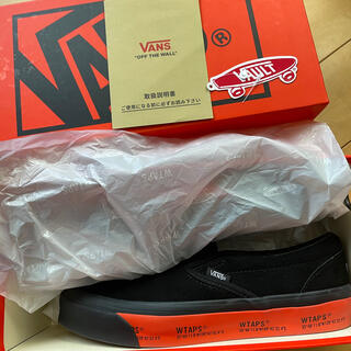 W)taps - WTAPS VANS VALUT SLIP-ON Black 26.5cm