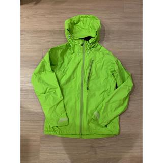 マムート(Mammut)のマムート ゴアテックスジャケット レディース XS 黄緑(登山用品)