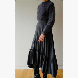 ENFOLD - CLANEクラネ フリルプリーツボリュームスカート新品
