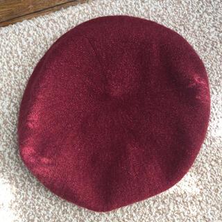 ケンゾー(KENZO)のニットベレー帽(ハンチング/ベレー帽)
