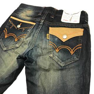 エドウィン(EDWIN)のEDWIN エドウィン 濃紺 421XVS ブーツカット サイズ30 約83cm(デニム/ジーンズ)