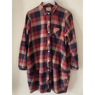 Heart Market - ハートマーケット♡シャツワンピース チェックシャツ
