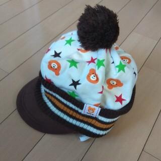 ホットビスケッツ(HOT BISCUITS)のミキハウス☆ホットビスケッツ☆帽子☆L(帽子)