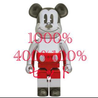 メディコムトイ(MEDICOM TOY)のbe@rbrick future mickey 1000% 400% 100% (キャラクターグッズ)