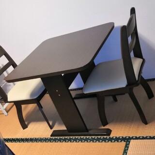 ニトリ(ニトリ)のダイニングテーブル セット 2人 引取り限定希望(ダイニングテーブル)