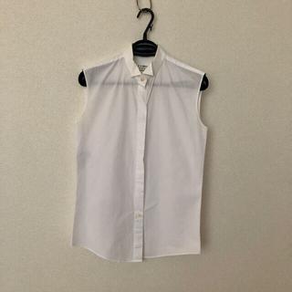 マルタンマルジェラ(Maison Martin Margiela)のマルジェラ Maison Martin Margiela ノースリーブ シャツ(シャツ/ブラウス(半袖/袖なし))