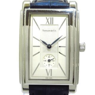 ティファニー(Tiffany & Co.)のティファニー 腕時計 グランド メンズ 白(その他)
