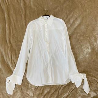 ルシェルブルー(LE CIEL BLEU)のルシェルブルー リボンシャツ 36(シャツ/ブラウス(長袖/七分))