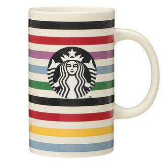 スターバックスコーヒー(Starbucks Coffee)のスターバックス マグカップ Kate Spade ストライプ355ml(マグカップ)