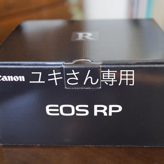 Canon - Canon EOS RPのボディ新品(メーカー保証付き)