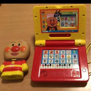 アンパンマン ミニパソコンノート おもちゃ