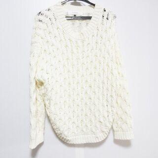 ルシェルブルー(LE CIEL BLEU)のルシェルブルー 長袖セーター サイズ38 M(ニット/セーター)
