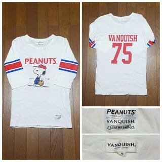 ヴァンキッシュ(VANQUISH)のVANQUISH!スヌーピー Tシャツ!(Tシャツ/カットソー(七分/長袖))
