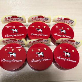 COW - 牛乳石鹸 ビューティークリーム 赤箱ビューティクリーム 80g 6個セット☘