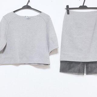 ルシェルブルー(LE CIEL BLEU)のルシェルブルー スカートセットアップ美品 (セット/コーデ)