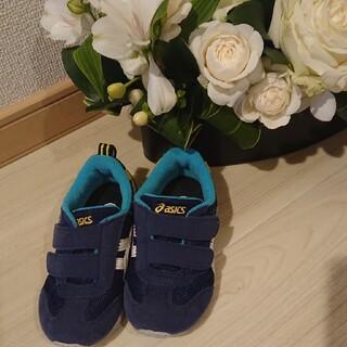 asics - 【美品】アシックス  子供用スニーカー15.5