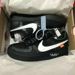 27CM NIKE OFF-WHITE AIR FORCE 1