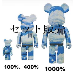 メディコムトイ(MEDICOM TOY)のBE@RBRICK Rene Magritte 100% 400% 1000%(フィギュア)