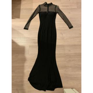 ロングドレス 黒