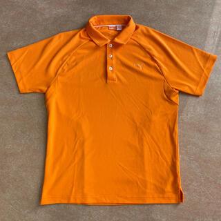 プーマ(PUMA)のプーマ men's ゴルフポロシャツ Lサイズ(ウエア)