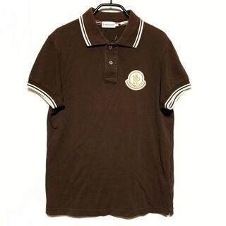 モンクレール(MONCLER)のモンクレール 半袖ポロシャツ サイズS -(ポロシャツ)