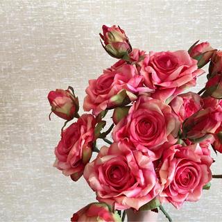 フランフラン(Francfranc)のアンティーク 薔薇 スタジオ アーティフィシャルフラワー(造花) 花材(ブーケ)
