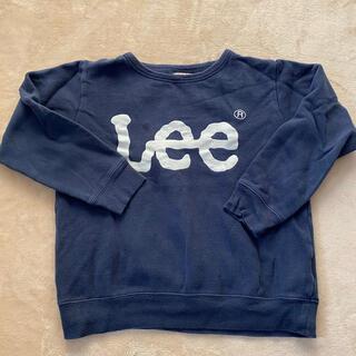 リー(Lee)のLee 130 トレーナー used ネイビー 紺(Tシャツ/カットソー)