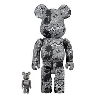 メディコムトイ(MEDICOM TOY)の【即日発送】BE@RBRICK Keith Haring Mickey(その他)