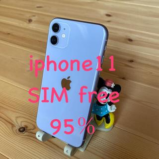 Apple - 美品 iPhone11 64GB SIMロック解除済み 本体のみ