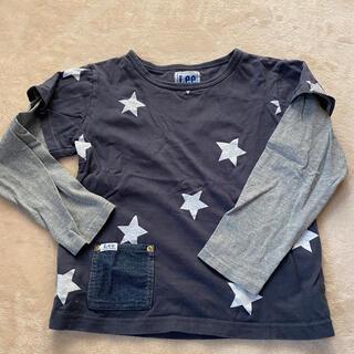 リー(Lee)のLee 130 重ね着風カットソー 星柄 used(Tシャツ/カットソー)