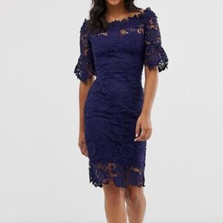 エイソス(asos)のイギリスブランド ドレス(ミディアムドレス)