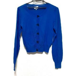 ランバンオンブルー(LANVIN en Bleu)のランバンオンブルー カーディガン 38 M -(カーディガン)