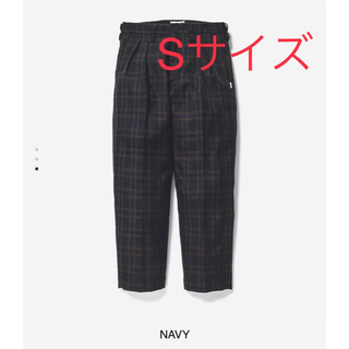 W)taps - WTAPS TUCK /TROUSERS /WOOL.TWEED.TEXTILE