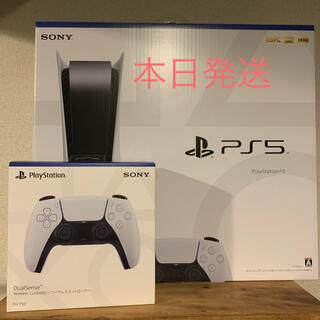 PlayStation - PS5 本体 CFI-1000A01 通常版 ワイヤレスコントローラーセット