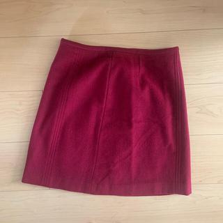 トゥモローランド(TOMORROWLAND)のウールスカート 着画あり!(ひざ丈スカート)