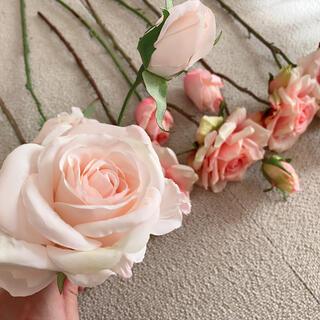 フランフラン(Francfranc)のアーティフィシャルフラワー(造花)花材 薔薇 バラ (ブーケ)