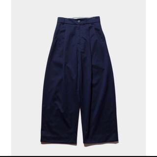COMOLI - 20SSSTUDIONICHOLSONVOLUMEPLEAT PANTS BEN