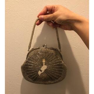 Lochie - Vintage silver beads mini bag