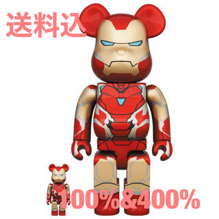 MEDICOM TOY - BE@RBRICK IRON MAN MARK 85 100%&400%