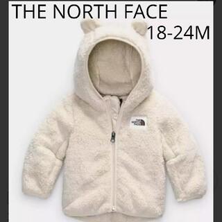 THE NORTH FACE - ノースフェイス くま耳 90 ベビー フリース フーディ アウター