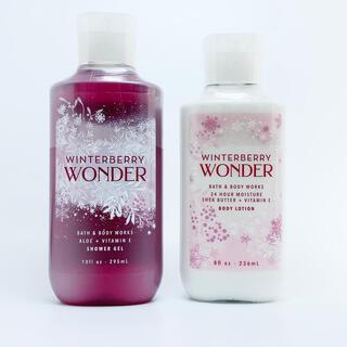 Bath & Body Works - BBW Winterberry Wonder 2点セット