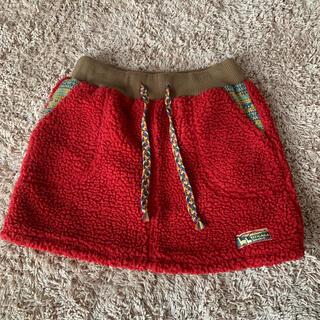 チチカカ(titicaca)のチチカカ モコモコスカート(ひざ丈スカート)