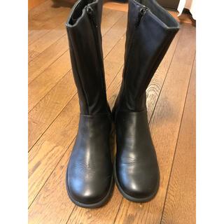 カンペール(CAMPER)のCAMPER 黒ブーツ 23.5cm(ブーツ)