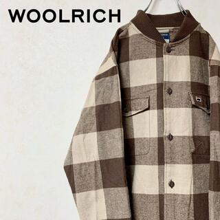 ウールリッチ(WOOLRICH)のWOOLRICH ウールリッチ 90年代 ブルゾン MA-1タイプ 美品(ブルゾン)