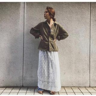 ファビアンルー(Fabiane Roux)のnowos レーススカート 新品未使用タグ付(ロングスカート)