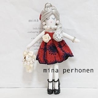 mina perhonen - ミナペルホネン ★ハンドメイド★ ドールチャーム  anemone